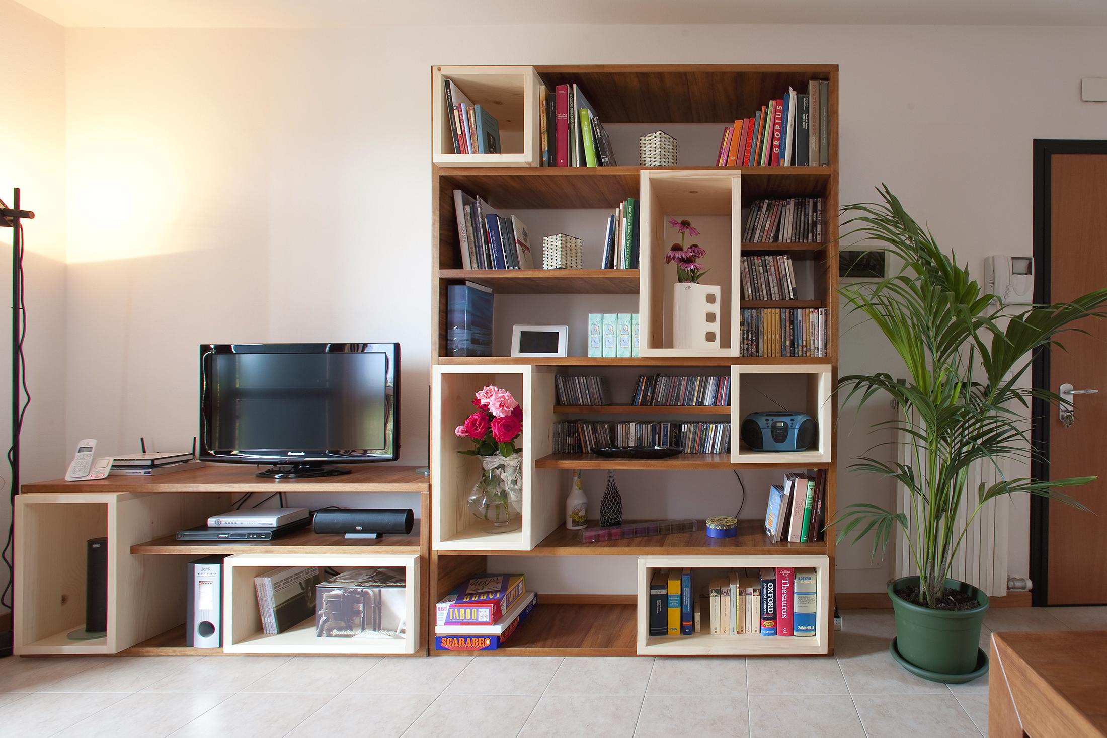 Progettazione libreria su misura -5